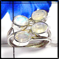Rainbow Moonstone Cut