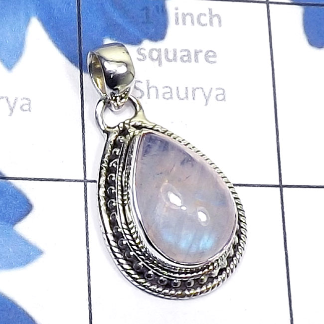 Rainbow Moonstone E - SD731-925 Silver Manufacturer Semiprecious Gemstone Wholesale De