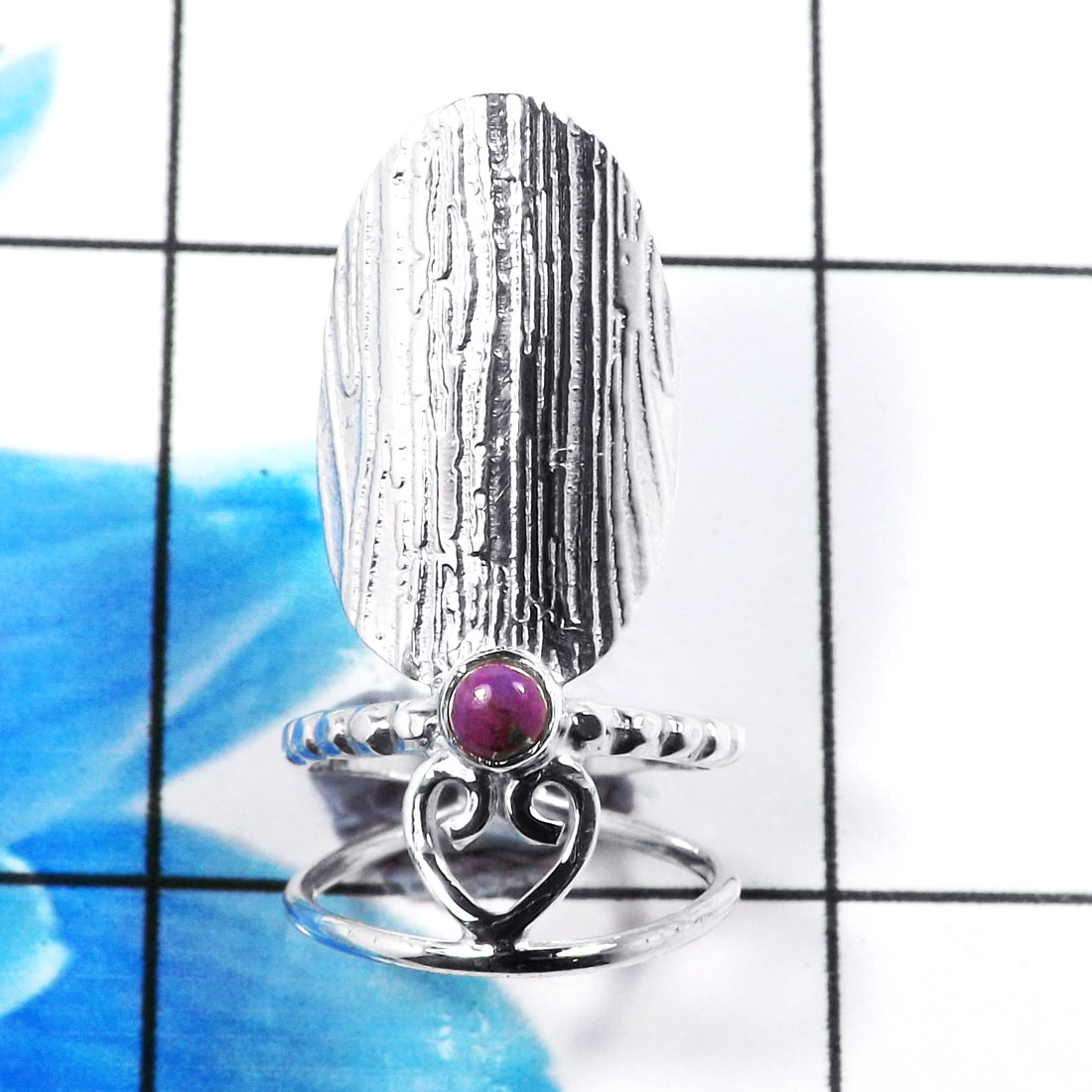 Nails Ring D - SNR993-Charming 925 Sterling Silver Factory Handmade Nails Ring
