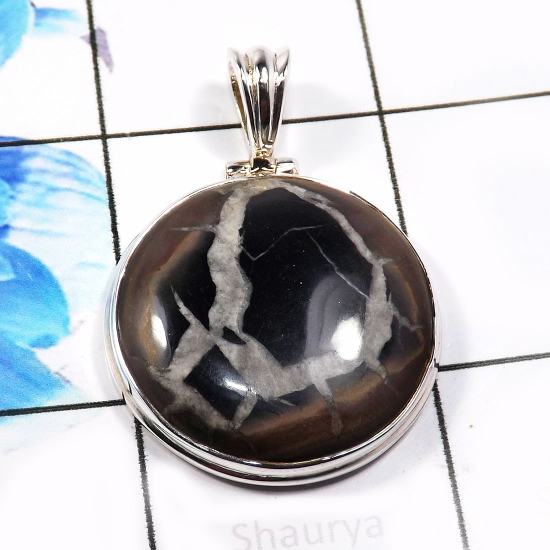 Septarian e isp745 925 sterling new septarian gemstone trendy septarian e isp745 925 sterling new septarian gemstone trendy pendants facto aloadofball Image collections