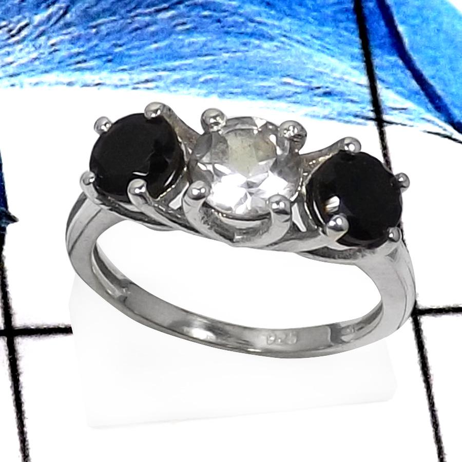 Crystal Quartz Black Onyx Cut L Rss822 Classic Cut Gemstones