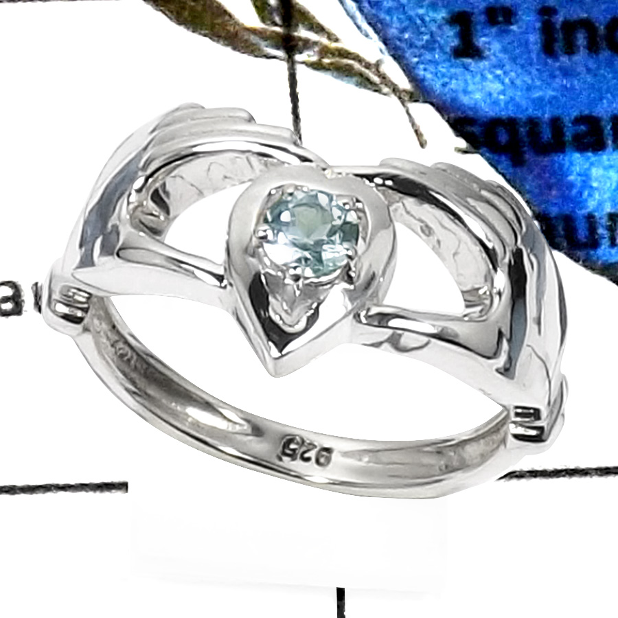 Blue Topaz D - SCR773-ELEGENT NEW CASTING BEAUTIFUL DESIGNER RINGS WHOLESALE 925 STERLING SILVER