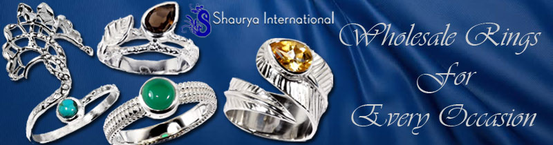 Contemporary Wholesale Casting Rings from Jaipur India