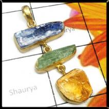 Rough Gemstone Pendant