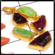 Rough Gemstone Jewelry