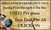 Mega Gemstone Jewelry Clearance Sale per gram.